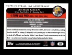 2005 Topps #354   -  Ahman Green All-Pro Back Thumbnail