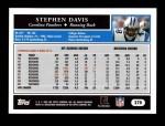 2005 Topps #270  Stephen Davis  Back Thumbnail