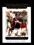 2005 Topps #322   -  John Elway Golden Moments Front Thumbnail