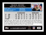 2005 Topps #269  Travis Henry  Back Thumbnail