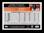 2005 Topps #263  Derrick Mason  Back Thumbnail