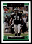 2006 Topps #20  Trent Cole  Front Thumbnail