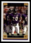 2006 Topps #196  Ed Reed  Front Thumbnail