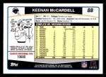 2006 Topps #88  Keenan McCardell  Back Thumbnail