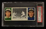 1912 T202 Hassan   -  Wildfire Schulte / Jim Jimmy Sheckard Stone About To Swing  Front Thumbnail