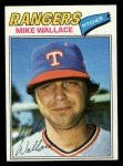 1977 Topps #539  Mike Wallace  Front Thumbnail