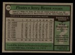 1979 Topps #536  Jerry Reuss  Back Thumbnail