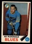 1969 O-Pee-Chee #18  Ab McDonald  Front Thumbnail