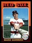 1975 Topps Mini #152  Mario Guerrero  Front Thumbnail