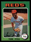 1975 Topps Mini #108  Tom Hall  Front Thumbnail