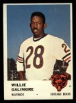 1961 Fleer #3  Willie Galimore  Front Thumbnail