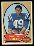1970 Topps #222  David Lee  Front Thumbnail