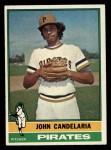 1976 Topps #317  John Candelaria  Front Thumbnail