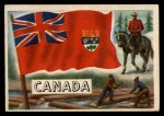 1956 Topps Flags of the World #19   Canada Front Thumbnail