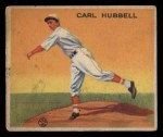 1933 Goudey #230  Carl Hubbell  Front Thumbnail