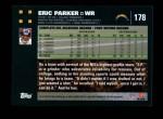 2007 Topps #178  Eric Parker  Back Thumbnail