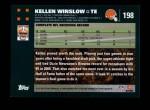 2007 Topps #198  Kellen Winslow  Back Thumbnail
