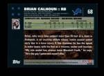 2007 Topps #68  Brian Calhoun  Back Thumbnail