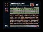 2007 Topps #59  Chris Perry  Back Thumbnail