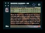 2007 Topps #63  Marion Barber  Back Thumbnail
