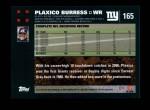 2007 Topps #165  Plaxico Burress  Back Thumbnail