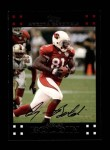 2007 Topps #113  Anquan Boldin  Front Thumbnail