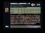 2007 Topps #275  Derrick Johnson  Back Thumbnail