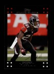 2007 Topps #225  DeAngelo Hall  Front Thumbnail