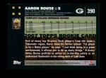2007 Topps #390  Aaron Rouse  Back Thumbnail