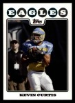 2008 Topps #116  Kevin Curtis  Front Thumbnail