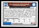 2008 Topps #88  DeAngelo Williams  Back Thumbnail