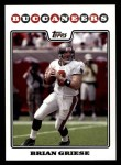 2008 Topps #41  Brian Griese  Front Thumbnail