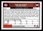 2008 Topps #191  Bo Scaife  Back Thumbnail