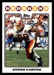 2008 Topps #216  Andre Carter  Front Thumbnail