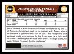 2008 Topps #383  Jermichael Finley  Back Thumbnail