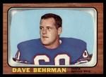 1966 Topps #18  Dave Behrman  Front Thumbnail