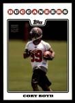 2008 Topps #359  Cory Boyd  Front Thumbnail
