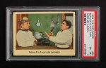 1959 Fleer Three Stooges #60   Betcha 8 to 5 You Miss Me Again  Front Thumbnail