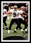2009 Topps #144  Drew Brees  Front Thumbnail