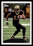 2009 Topps #275  Marques Colston  Front Thumbnail