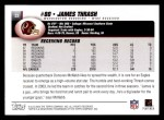 2004 Topps #33  James Thrash  Back Thumbnail