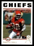 2004 Topps #26  Dante Hall  Front Thumbnail