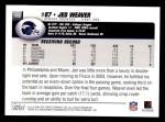 2004 Topps #112  Jed Weaver  Back Thumbnail