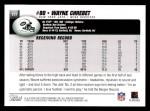 2004 Topps #177  Wayne Chrebet  Back Thumbnail