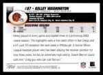 2004 Topps #131  Kelley Washington  Back Thumbnail