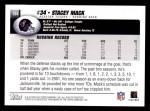 2004 Topps #134  Stacey Mack  Back Thumbnail