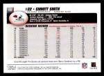 2004 Topps #191  Emmitt Smith  Back Thumbnail