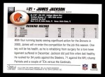 2004 Topps #263  James Jackson  Back Thumbnail