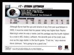 2004 Topps #245  Byron Leftwich  Back Thumbnail