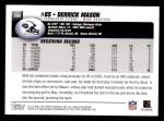 2004 Topps #260  Derrick Mason  Back Thumbnail
